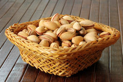 Fresh pistachios Royalty Free Stock Image
