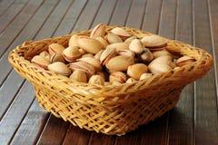 Fresh pistachios Royalty Free Stock Image