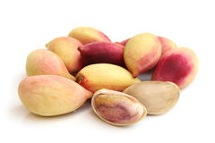 Fresh pistachios Royalty Free Stock Images