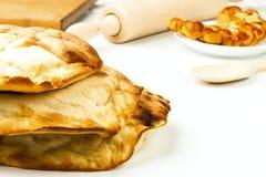 Fresh pita bread Royalty Free Stock Photography