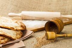 Fresh pita bread Royalty Free Stock Image