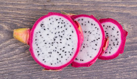 Fresh pitahaya Stock Photography