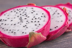 Fresh pitahaya Royalty Free Stock Photo