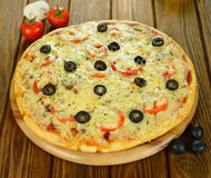 Fresh pizza Royalty Free Stock Photo