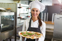 Fresh Pizza Stock Image