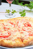 Fresh Pizza ready to be eaten Royalty Free Stock Photography