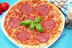Fresh pizza Royalty Free Stock Image