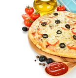 Fresh pizza Royalty Free Stock Photo