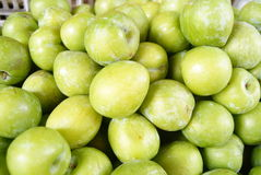Fresh plum Royalty Free Stock Image