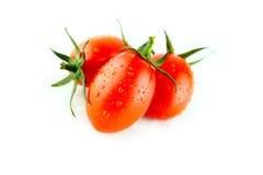 Fresh Plum tomatoes Royalty Free Stock Image