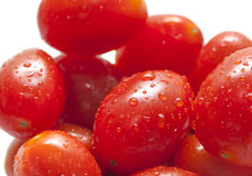 Fresh plum tomatoes Stock Photo