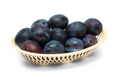 Fresh plums Stock Photo