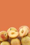 Fresh pluots (Prunus salicina × armeniaca) Royalty Free Stock Photo