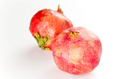 Fresh pomegranate royalty free stock photo