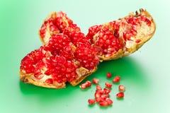 Fresh pomegranate Stock Photos