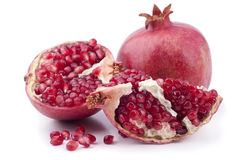 Fresh pomegranate Stock Photography
