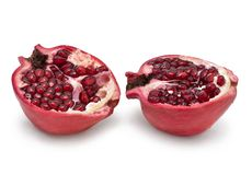 Free Fresh Pomegranate Royalty Free Stock Images - 52008829