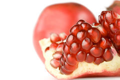 Fresh pomegranate Royalty Free Stock Photos