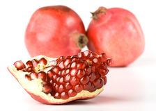 Free Fresh Pomegranate Royalty Free Stock Photography - 7283327