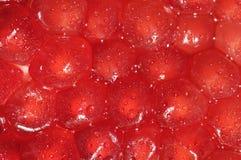 Fresh pomegranate cells Stock Images