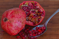 Fresh pomegranate Stock Photography