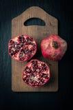 Fresh Pomegranate fruit Stock Photo