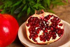 Fresh pomegranate Stock Image