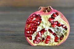 Fresh pomegranate half Stock Photography