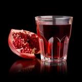 Fresh Pomegranate Juice Royalty Free Stock Image