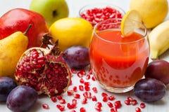Fresh pomegranate juice Royalty Free Stock Photography