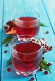 Fresh pomegranate juice Royalty Free Stock Photos