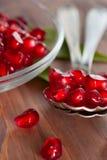 Fresh pomegranate seeds Stock Photo