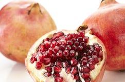 Fresh Pomegranate. Shot in studio Stock Photos