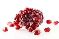 Fresh Pomegranate. Shot in studio Stock Images