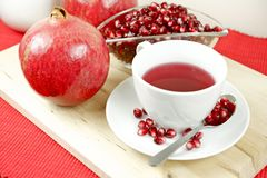 Fresh Pomegranate Tea Royalty Free Stock Image
