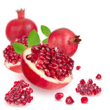 Fresh pomegranate Royalty Free Stock Photos