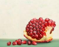 Fresh Pomegranate Royalty Free Stock Photography