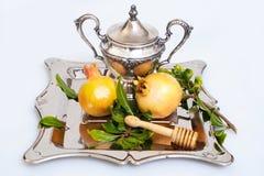 Fresh pomegranates for Rosh Hashana Royalty Free Stock Photos