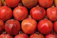 Fresh pomegranates texture background Royalty Free Stock Image