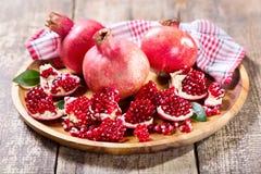 Fresh pomegranates Royalty Free Stock Image