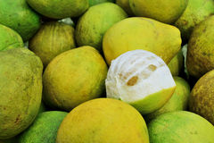 Fresh pomelo fruits Stock Photography