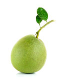 Fresh pomelo isolated on the white background Royalty Free Stock Images