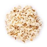 Fresh pop corn isolated on white background Stock Image