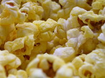 Fresh Popcorn. Ready to be eaten Stock Photos