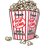 fresh popcorn Στοκ εικόνες με δικαίωμα ελεύθερης χρήσης