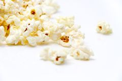 Fresh popcorn Stock Image