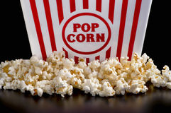 Fresh Popcorn Time. Royalty Free Stock Images