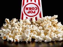 Fresh Popcorn Time. Stock Image