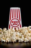 Fresh Popcorn Time Stock Image