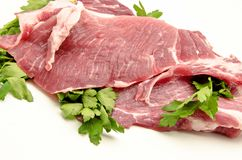 Fresh pork Stock Image